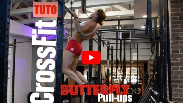 Tuto by Dounia : Comment faire des Butterfly pull-ups ?