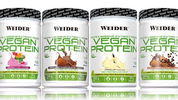 Vegan Protein de Weider, la protéine végétale la plus complèteactuellement sur le marché