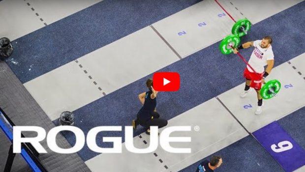 Mat Fraser : L'event 10 des CrossFit Games mais… vue de dessus !