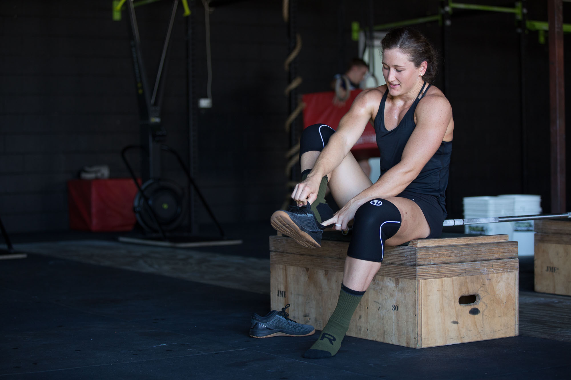 Rencontre avec l'ambassadrice Rehband Tia-Clair Toomey – Championne des CrossFit Games® 2018