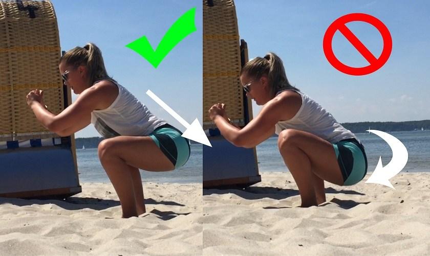 5 signes qui montrent que votre mobilité en squat a encore besoin de travail!