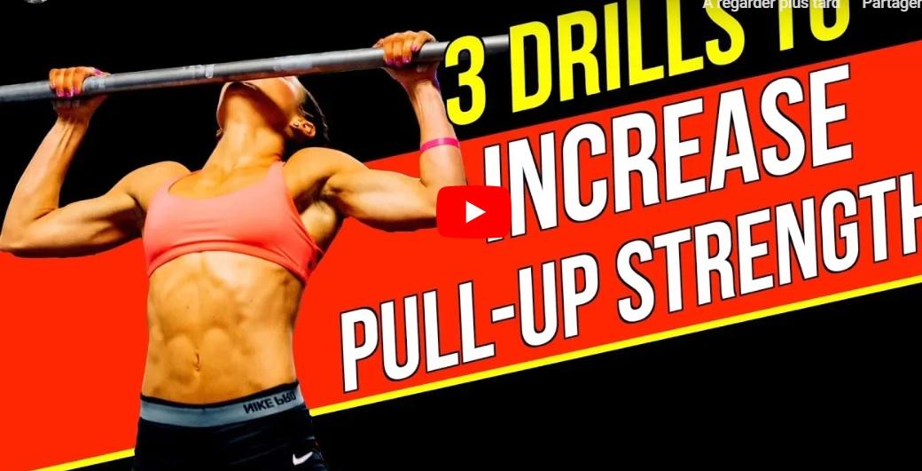 3 astuces simples pour travailler vos pull-ups STRICTES !