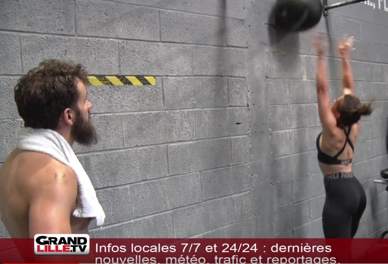 Reportage : «Le CrossFit, un sport pour repousser ses limites»