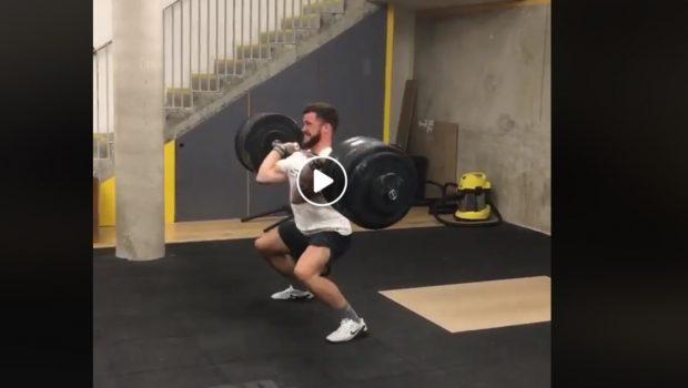 Power Clean et Power Jerk à 155 kg pour Willy Georges !