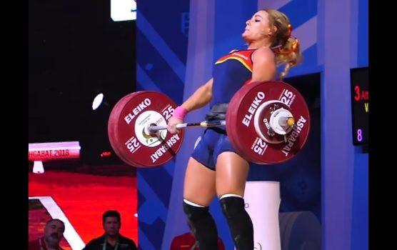 136 kg au Clean and Jerk pour Lydia Valentin !