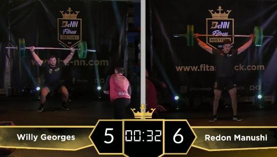 Willy Georges bat Rich Froning sur le heavy Isabel –  30 snatch à 100 kg !