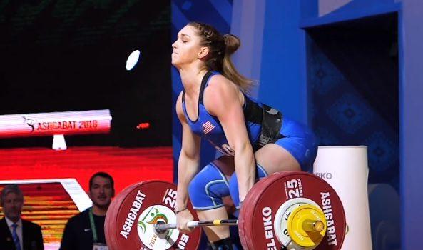 Mattie Rogers fait un clean and jerk à 133 kg et s'empare de la médaille de bronze !