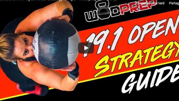 Trucs et astuces pour réussir le WOD 19.1 des Opens de CrossFit ®* !