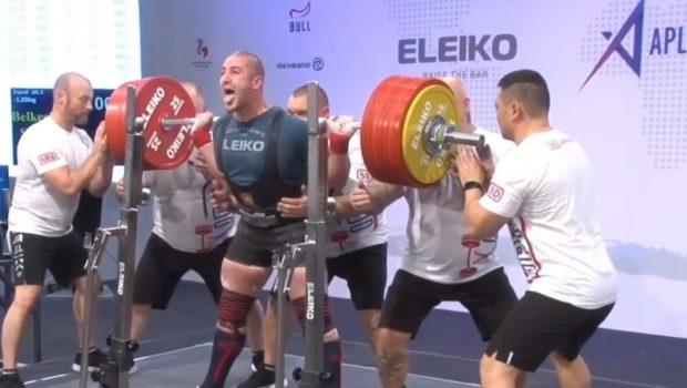Sofiane Belkesir : 407.5 kg au back squat !