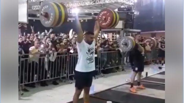 180 kg au Clean and Jerk pour Ioannis Papadopoulos lors des Athens Throwdown 2019 !