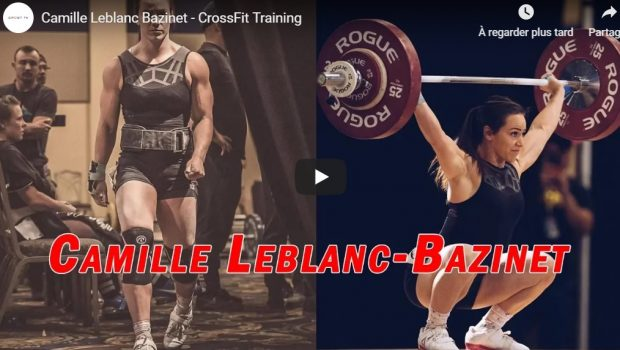 Compilation des trainings de Camille Leblanc-Bazinet !