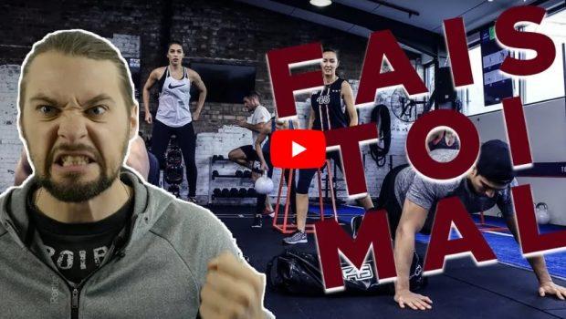 Le CrossFit ®*, c'est comme dans la vie : il faut se faire mal !