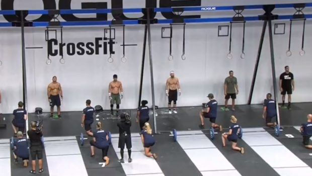 Rich Froning lors de l'event 2 des Rogue Invitational !