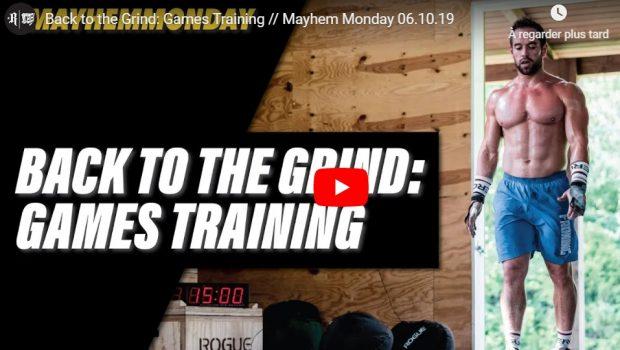 La Team CrossFit ®* Mayhem à l'entraînement pour préparer les Games !