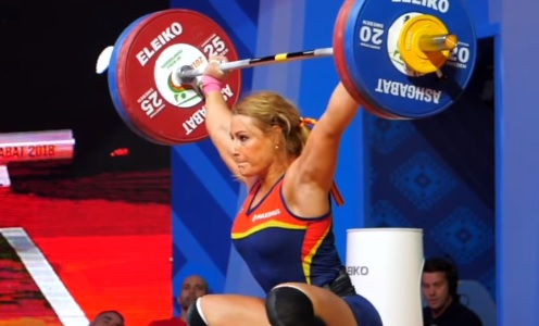 Lydia Valentin : son snatch (facile) à 113 kg !