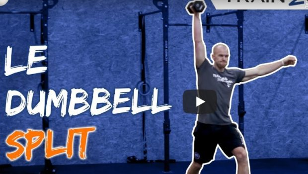 Tuto : comment faire les dumbell split jerk et split snatch ?