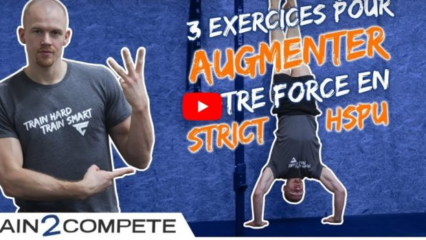 Gagnez de la force ! 3 exercices pour progresser en handstand push-up !
