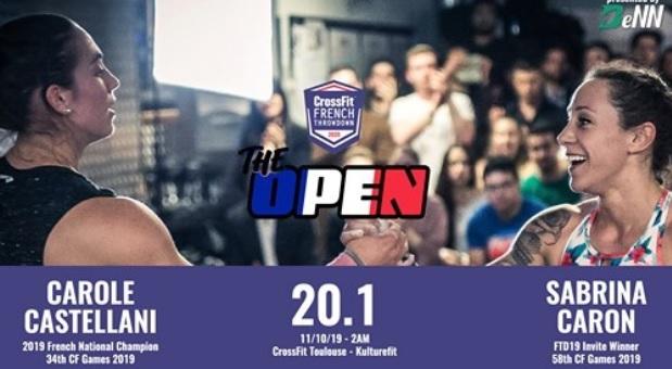 Direct Live ! Regardez l'annonce du WOD 20.1 des CrossFit ®* Open 2020 !