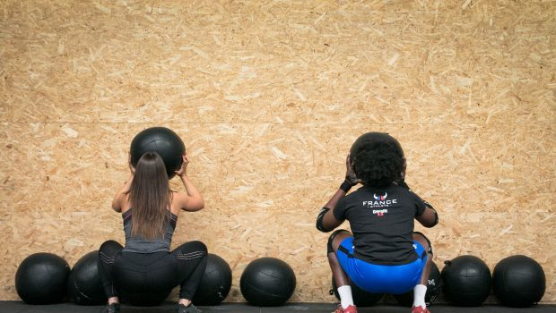 5 astuces pour exceller en Wall-Ball en CrossFit ®*!
