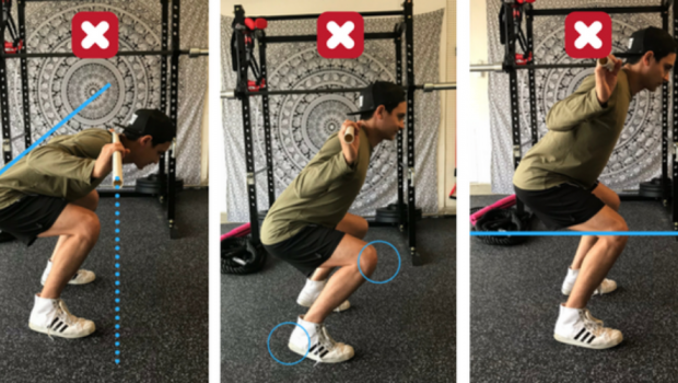 Les 5 erreurs les plus courantes en squat !