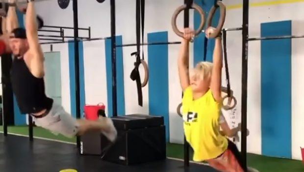 Jaimon Mogard, 9 ans, s'entraîne en gym… avec les grands !