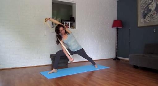 Une séance de Yoga de 7 minutes pour travailler les hanches et les épaules !
